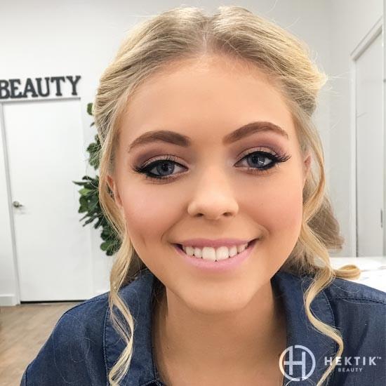 soft neutral glam bridal makeup look 1