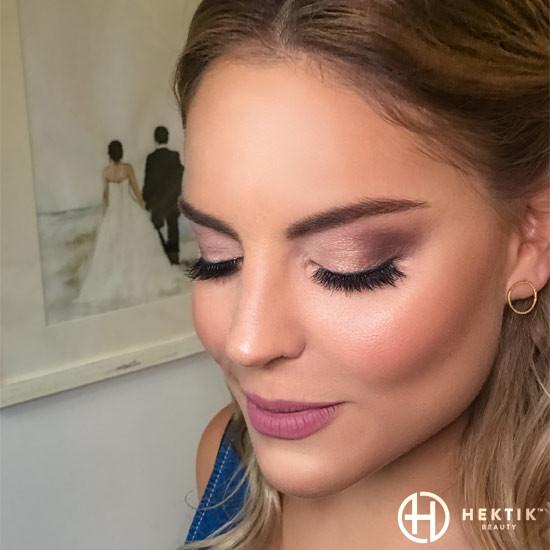 soft neutral glam bridal makeup look 4
