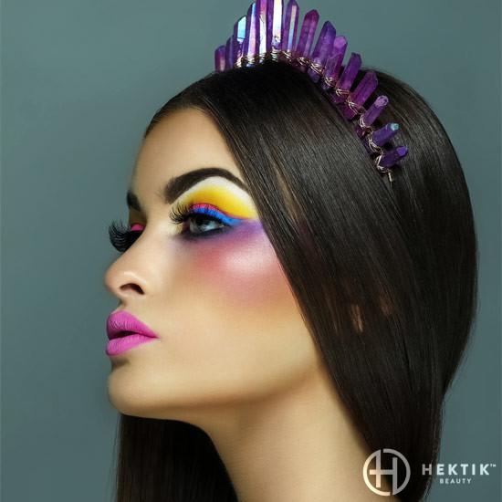 Editorial festival makeup look 2