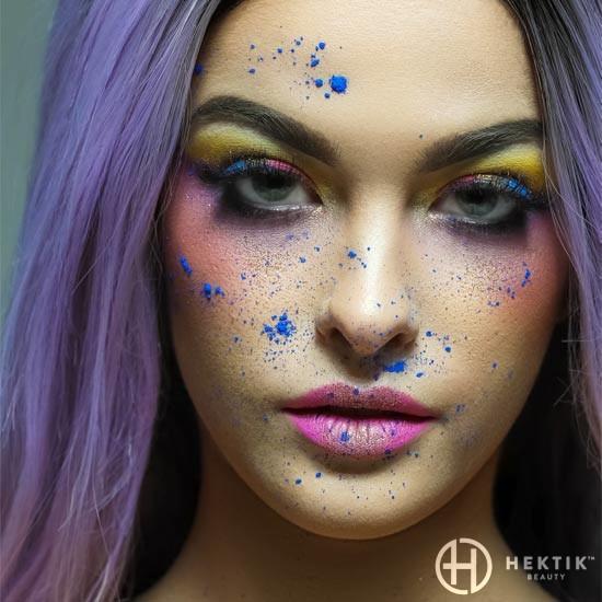 Editorial festival makeup look 5
