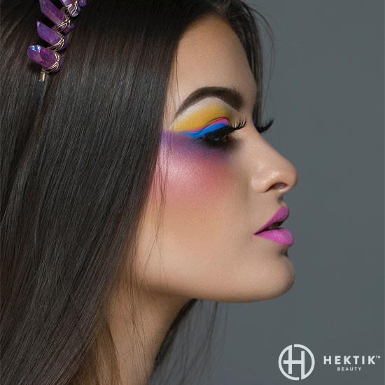 Editorial festival makeup look 6
