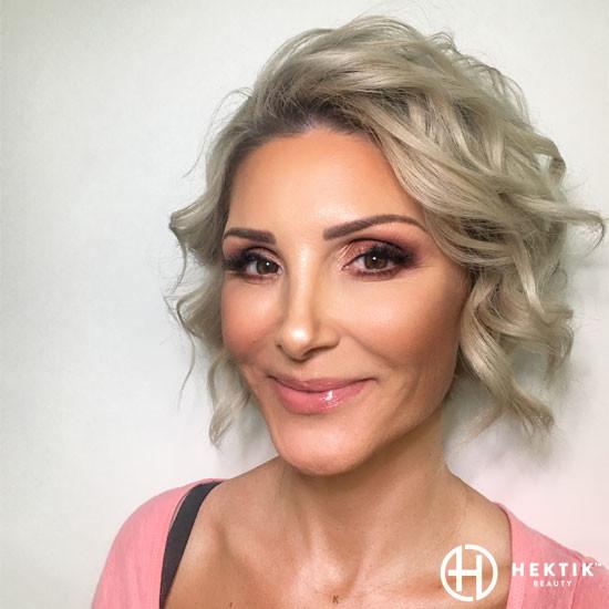 copper smokey eye makeup 1