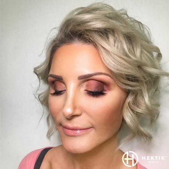 copper smokey eye makeup 2