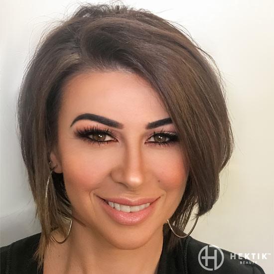 copper smokey eye makeup 4