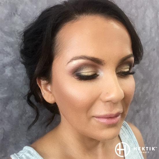 gold makeup smokey eye 4