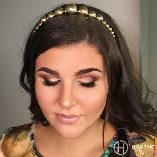 gold makeup smokey eye 5