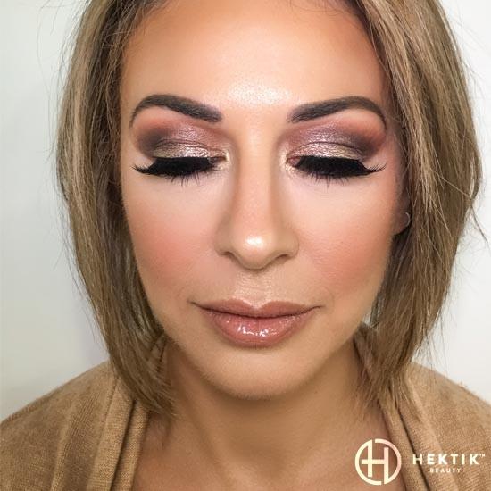gold makeup smokey eye 8