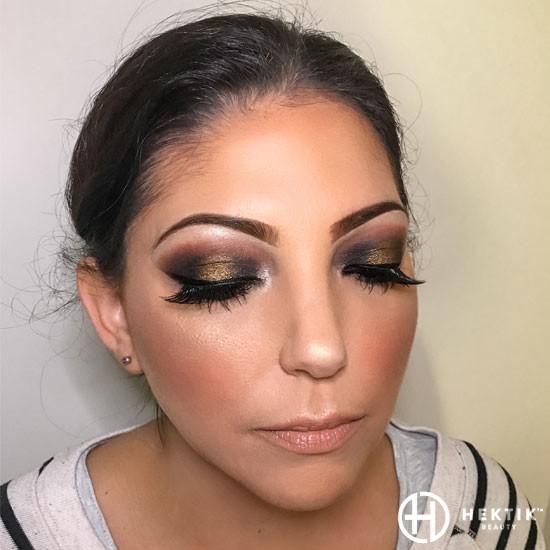 halo smokey eye black and gold 2